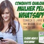 Aprenda a conquistar mulheres pelo WhatsApp
